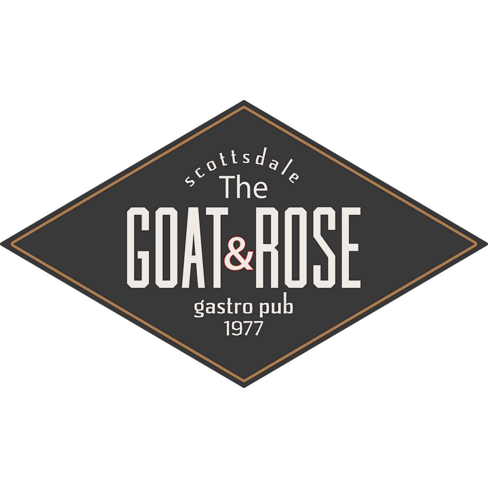 goat and rose logo