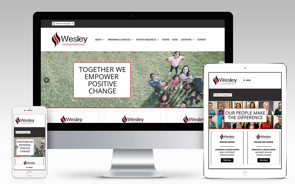 Wesley Community Health Centers | Won Creative